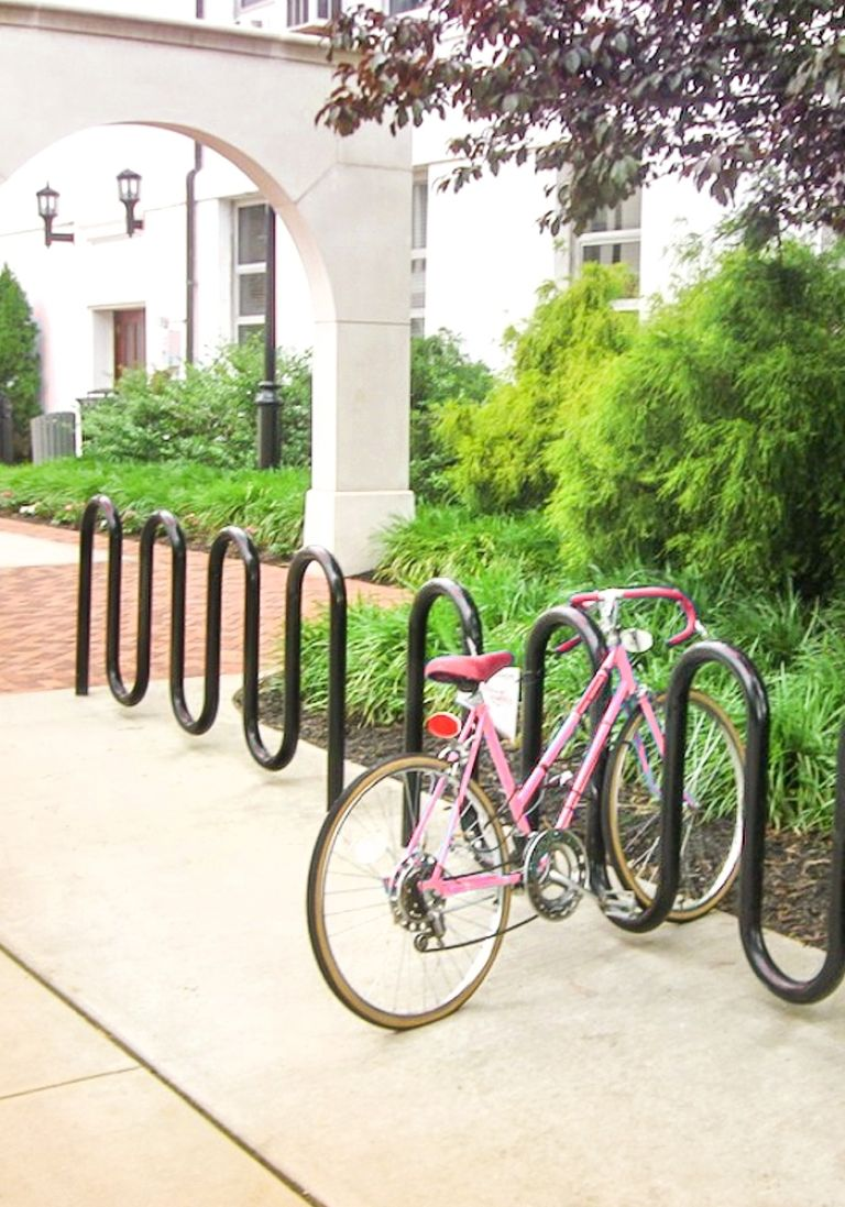 Site Amenities Bike Racks-Media Double-1