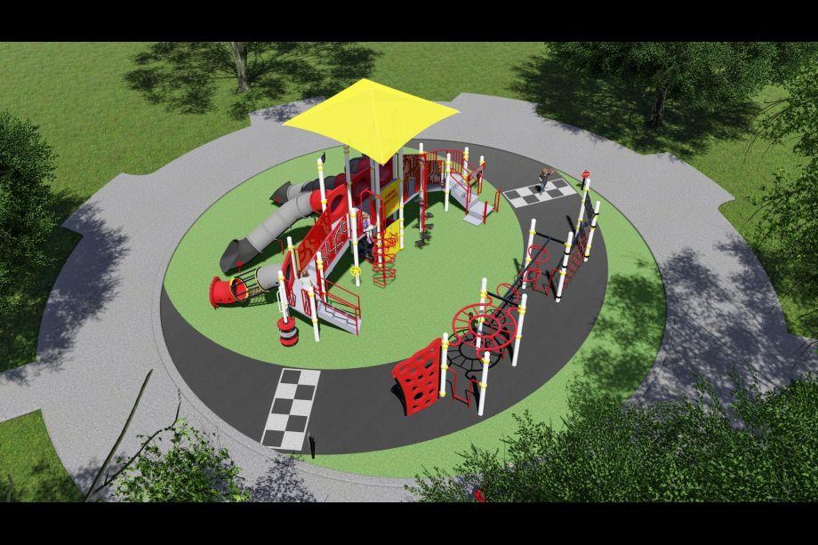 City of Corona Tehachapi Park Soon to be Built