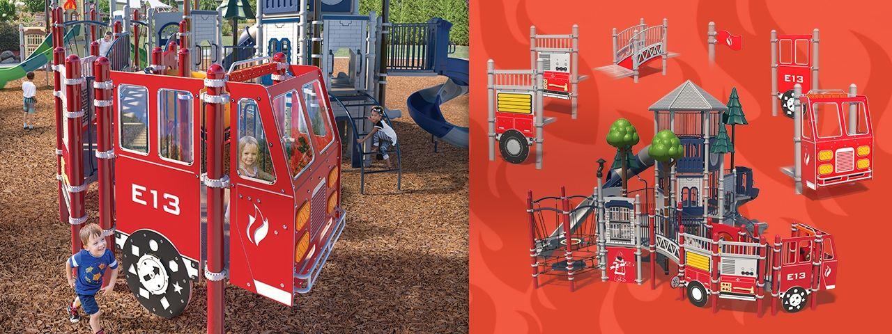 Firetruck Banner