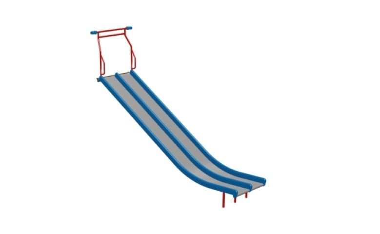 S-1712-84R35_Slide Steel Double