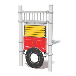 S 1623 DC WMP Fire Truck Wheel Maze Panel Media Standard 1
